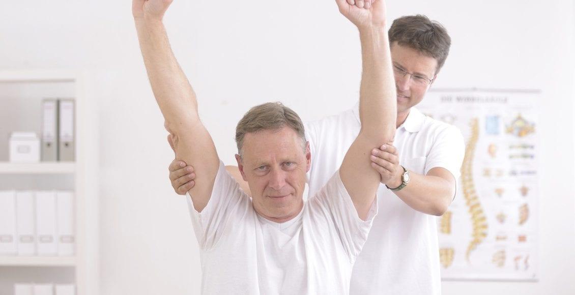 rotatorcuffel paso chiropractor patient rehab post injury
