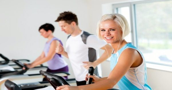 blog picture of two women and a man working out