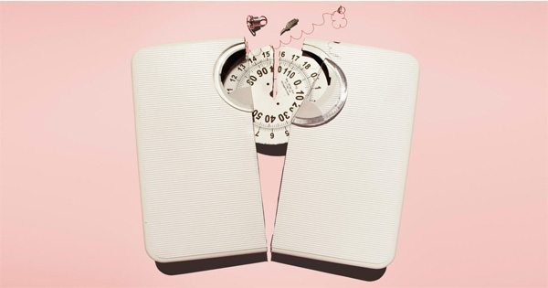 blog picture of broken weight scale