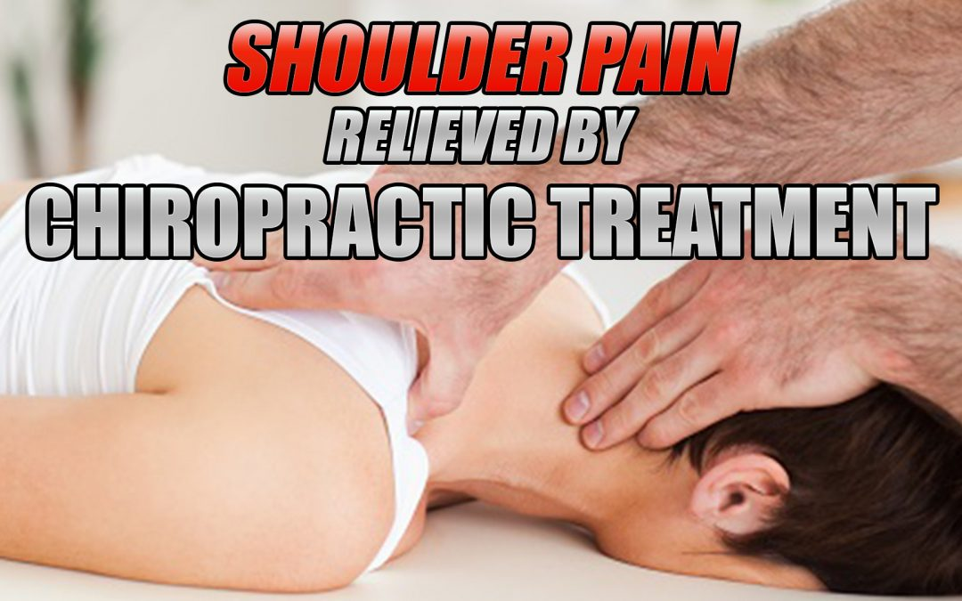 Shoulder Pain Can Be Relieved By Chiropractic In El Paso, TX.