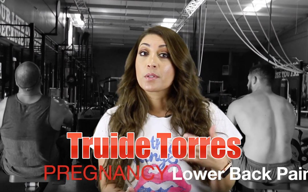 Lower Back Pain During Pregnancy Treatment El Paso, TX | Video