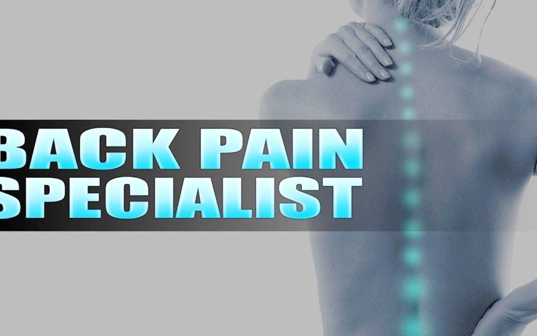 Back Pain Specialist In El Paso, TX Chiropractor | Video