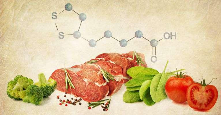 Alpha lipoic acid food
