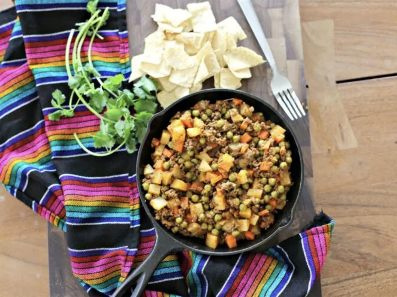 Meatless Picadillo
